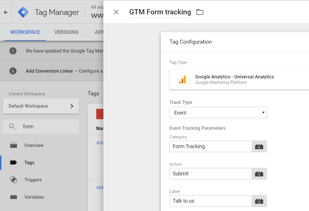 How to Track Leads with Google Tag Manager Form Submit Tracking