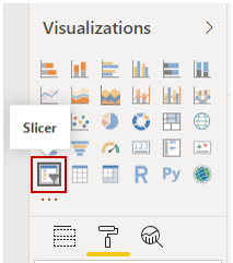 How to create Power BI Slicers